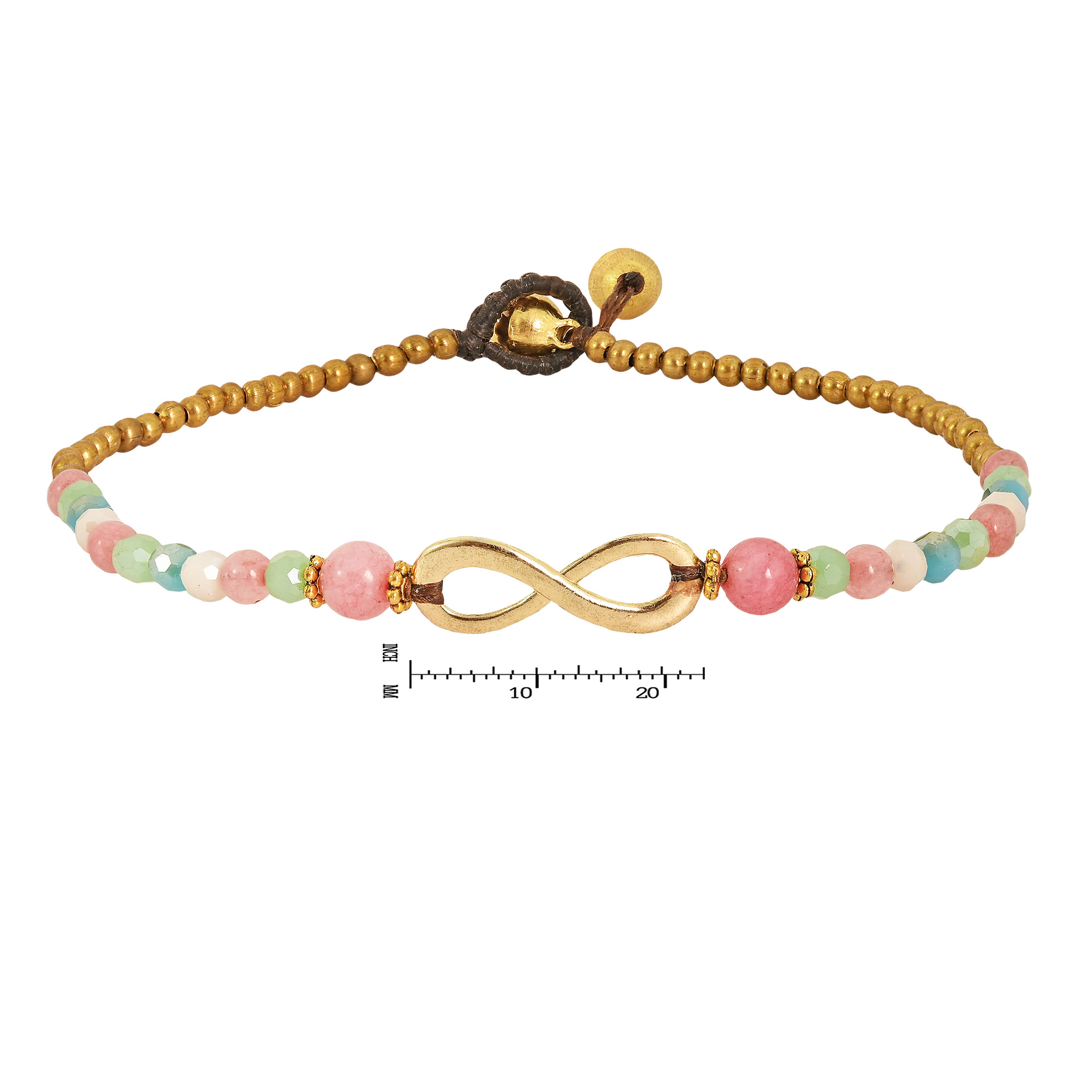 Meaning of infinity symbol images symbol and sign ideas beautiful infinity symbol pastel stone brass beads handmade anklet the beautiful meaning of the infinity symbol biocorpaavc