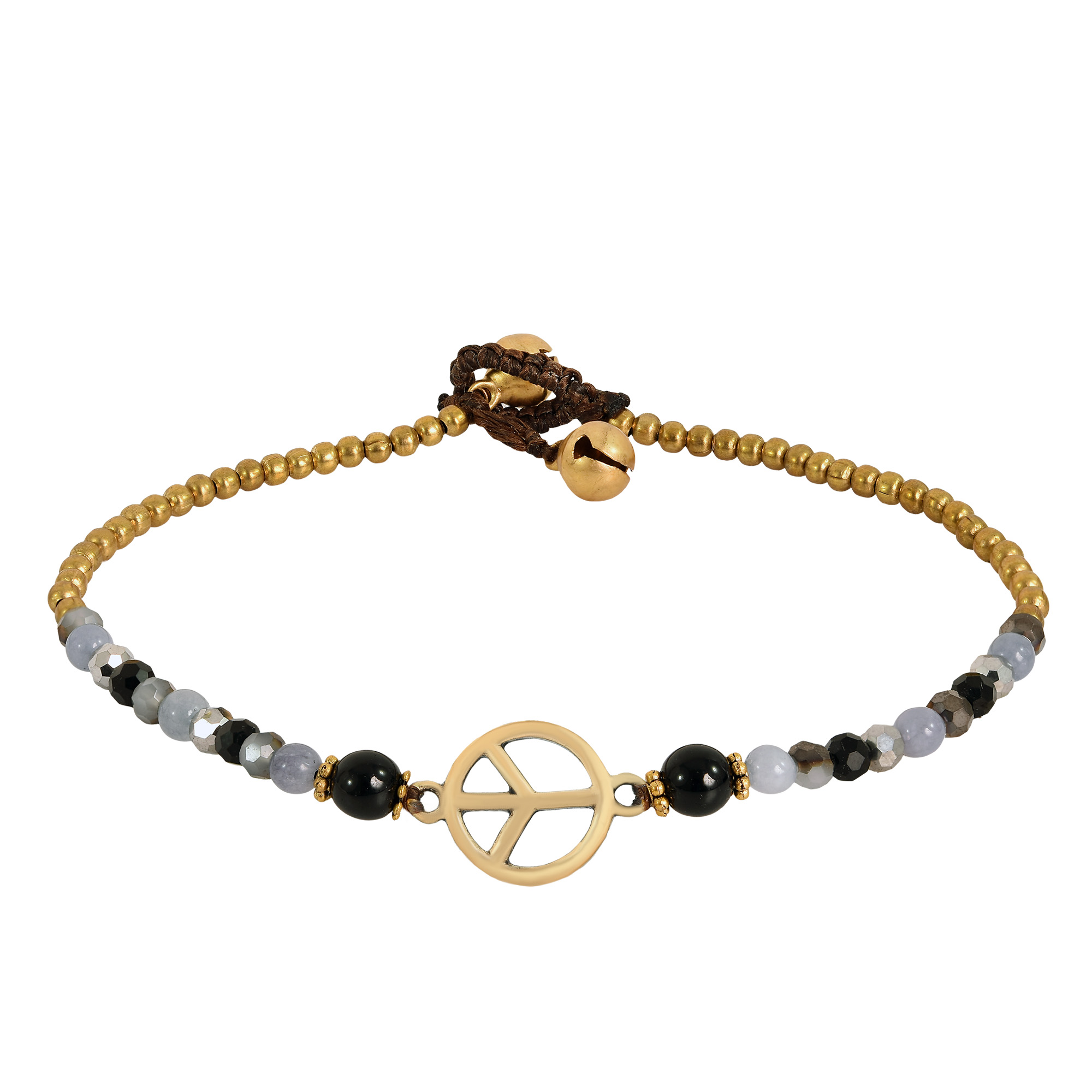 black shop bracelet peace long necklace of jewelry sign product brook edit mood bead