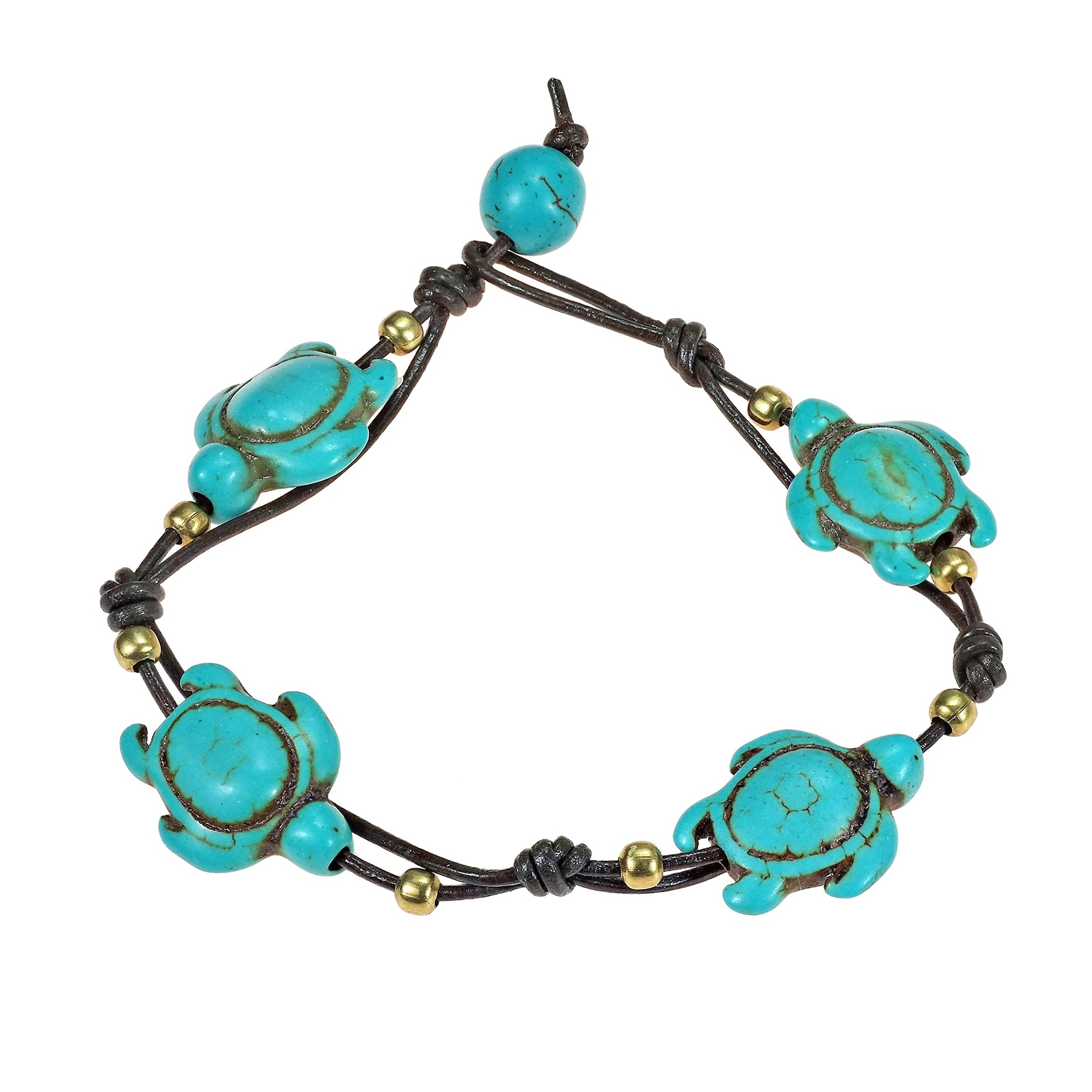 bracelet murano image product beads star turtle sea w shell products glass charm blue