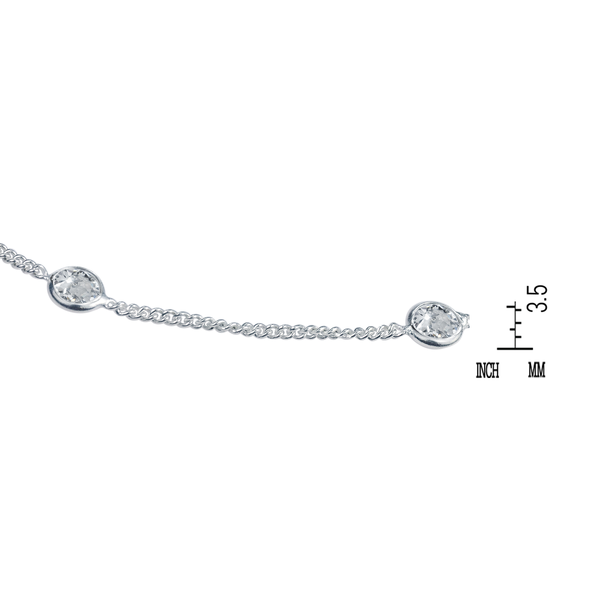 sterling beautiful ca white zirconia round cz details fine features accents jewelry with aeravida link anklet statement make cubic a from thailand wt silver crafted products this anklets cute