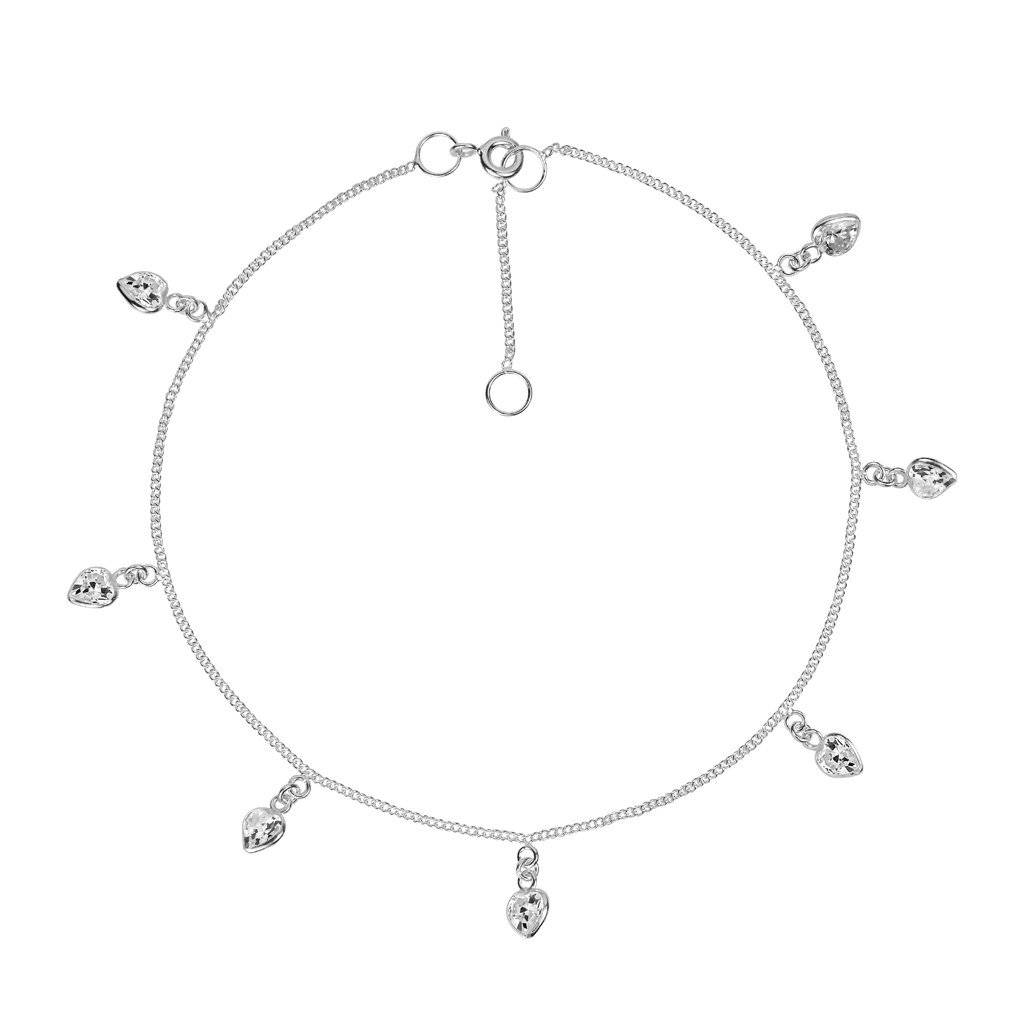 sterling statement cute products anklet ca silver thailand from cubic cz accents a link make with anklets details this wt white round features zirconia beautiful crafted aeravida