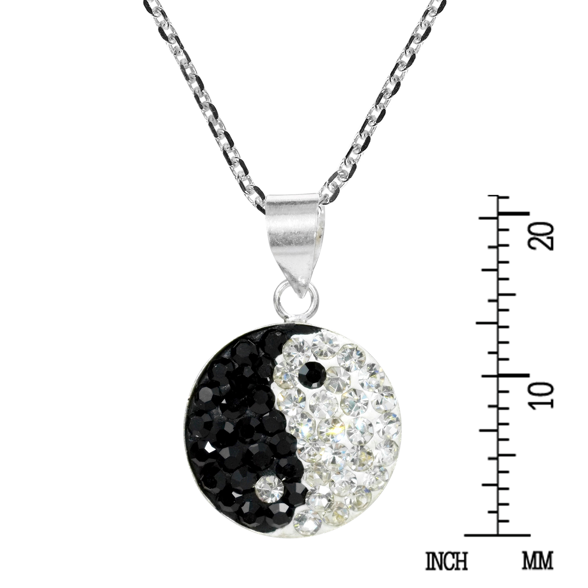 yang black cabochon necklace findings bone charms yin tone and carriage pendants fish