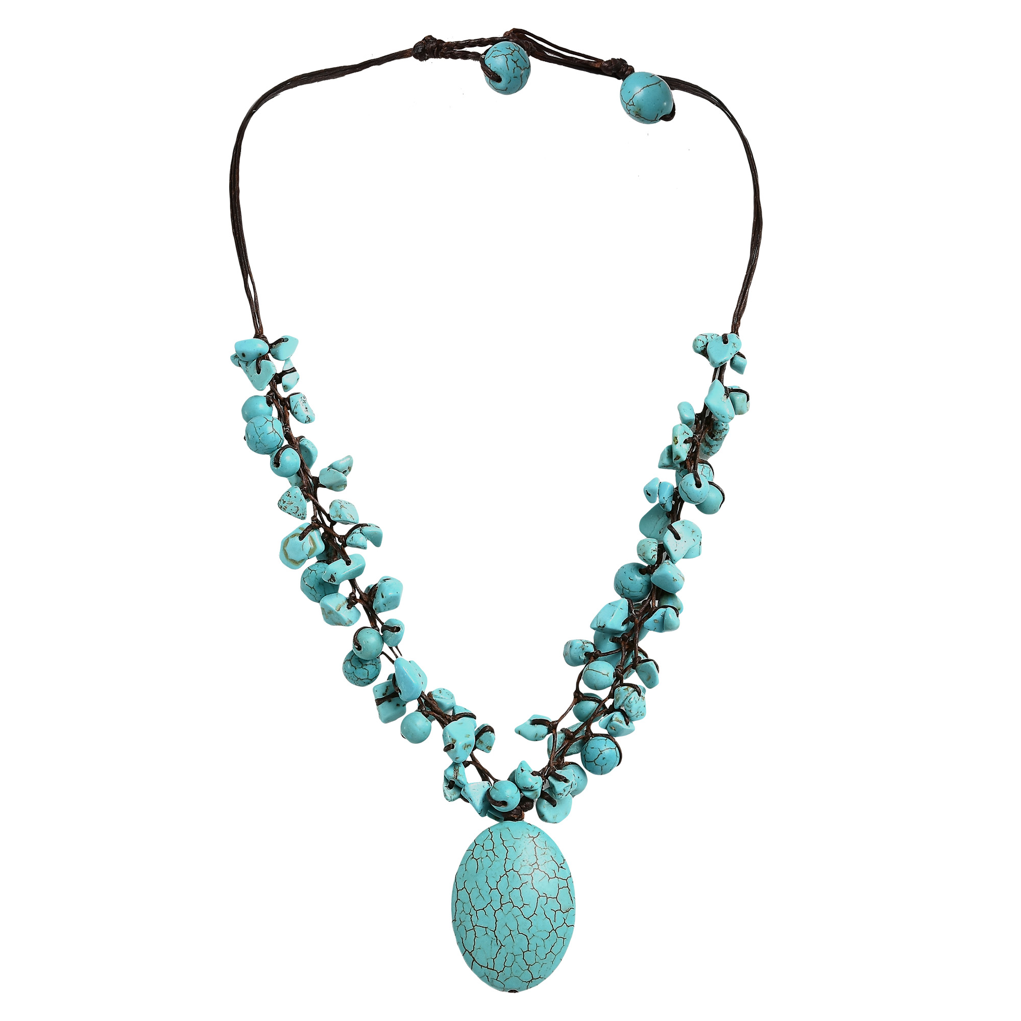 stone fashion paved trendy beloved necklace products vadan contemporary jewerly pendant women triangle sparkles turquoise