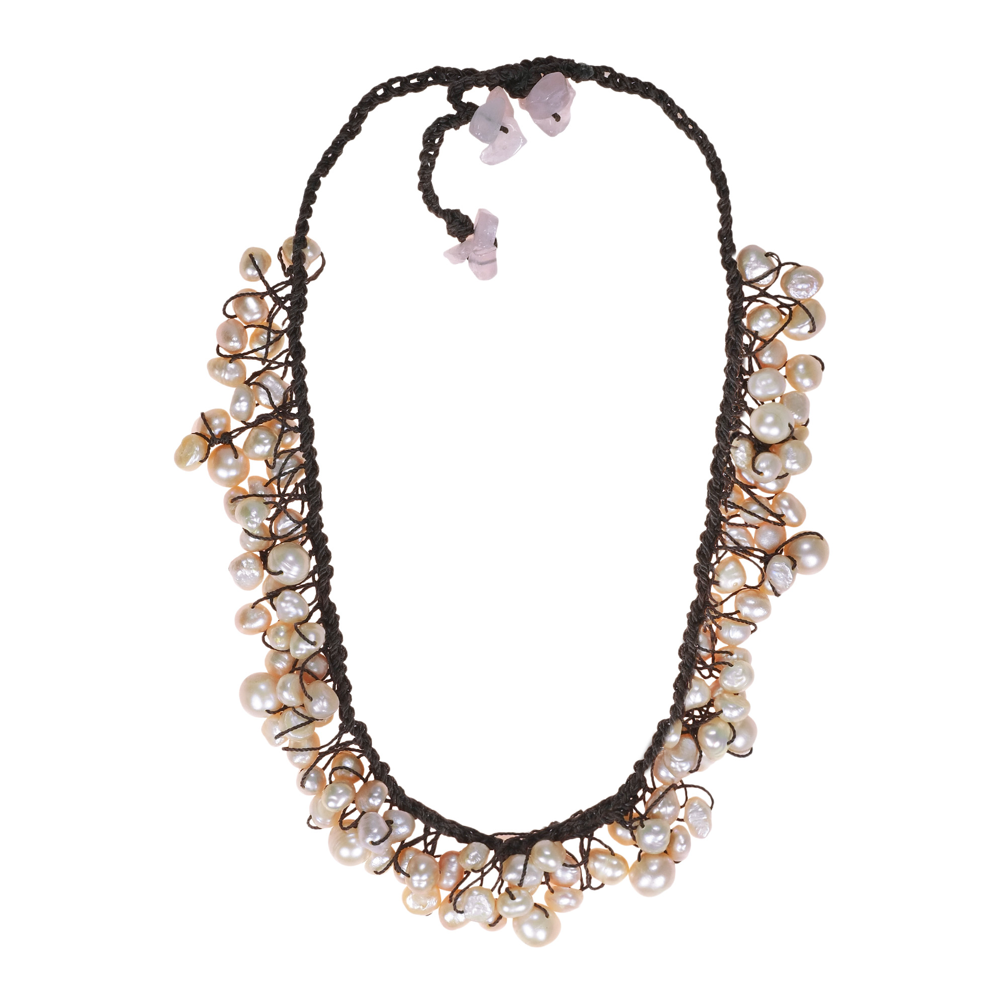 pink in products open blush cricle spruced occasionally necklace circle boutique made crystal