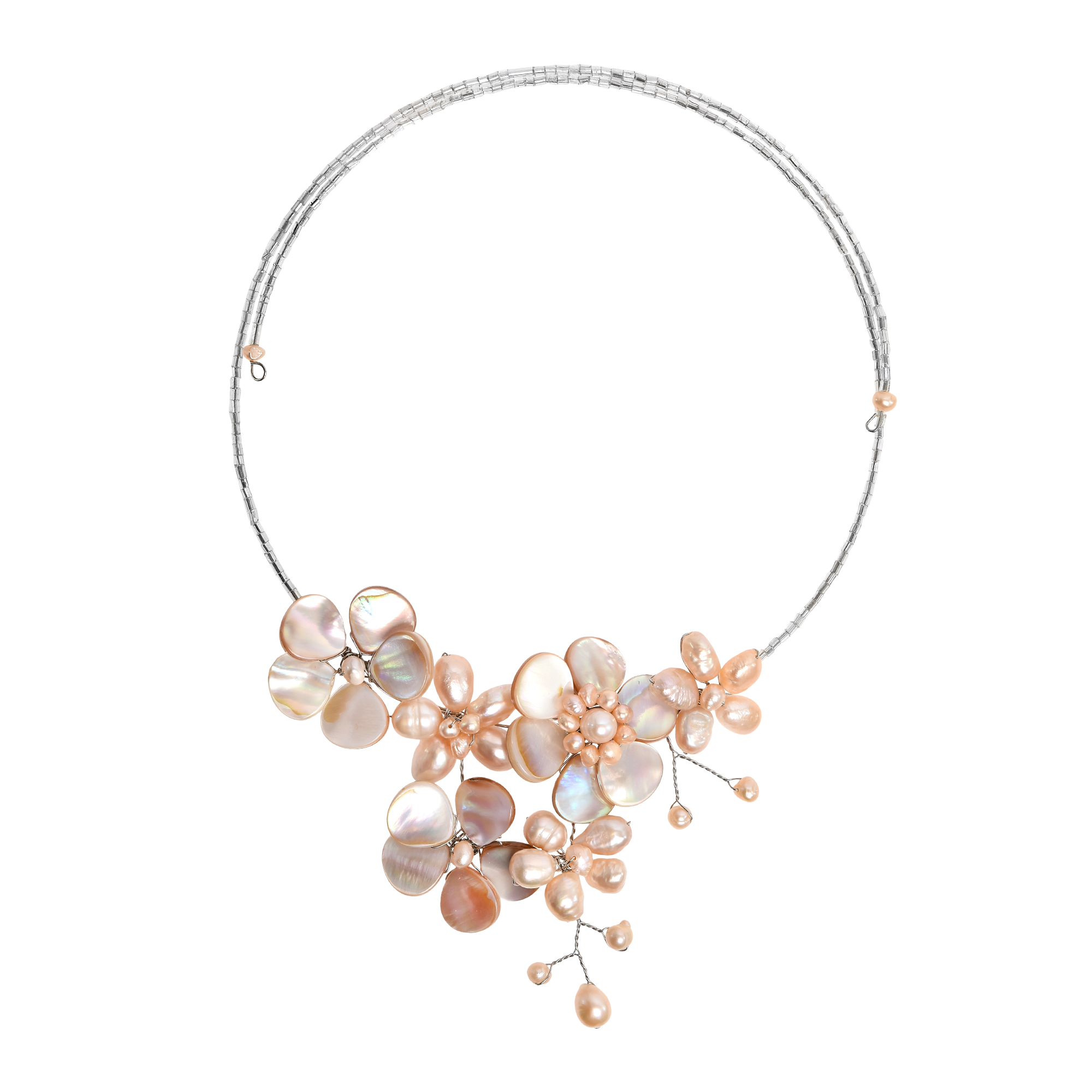 thumbnail products strand pearl necklaces pink necklace bauble faux original store collections online bliss multi