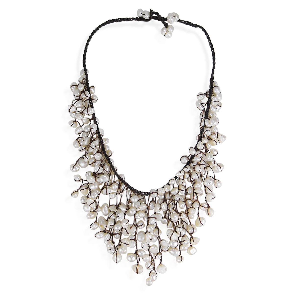 nugget s julius slate larrimor waterfall necklace in and crystal feature gillian