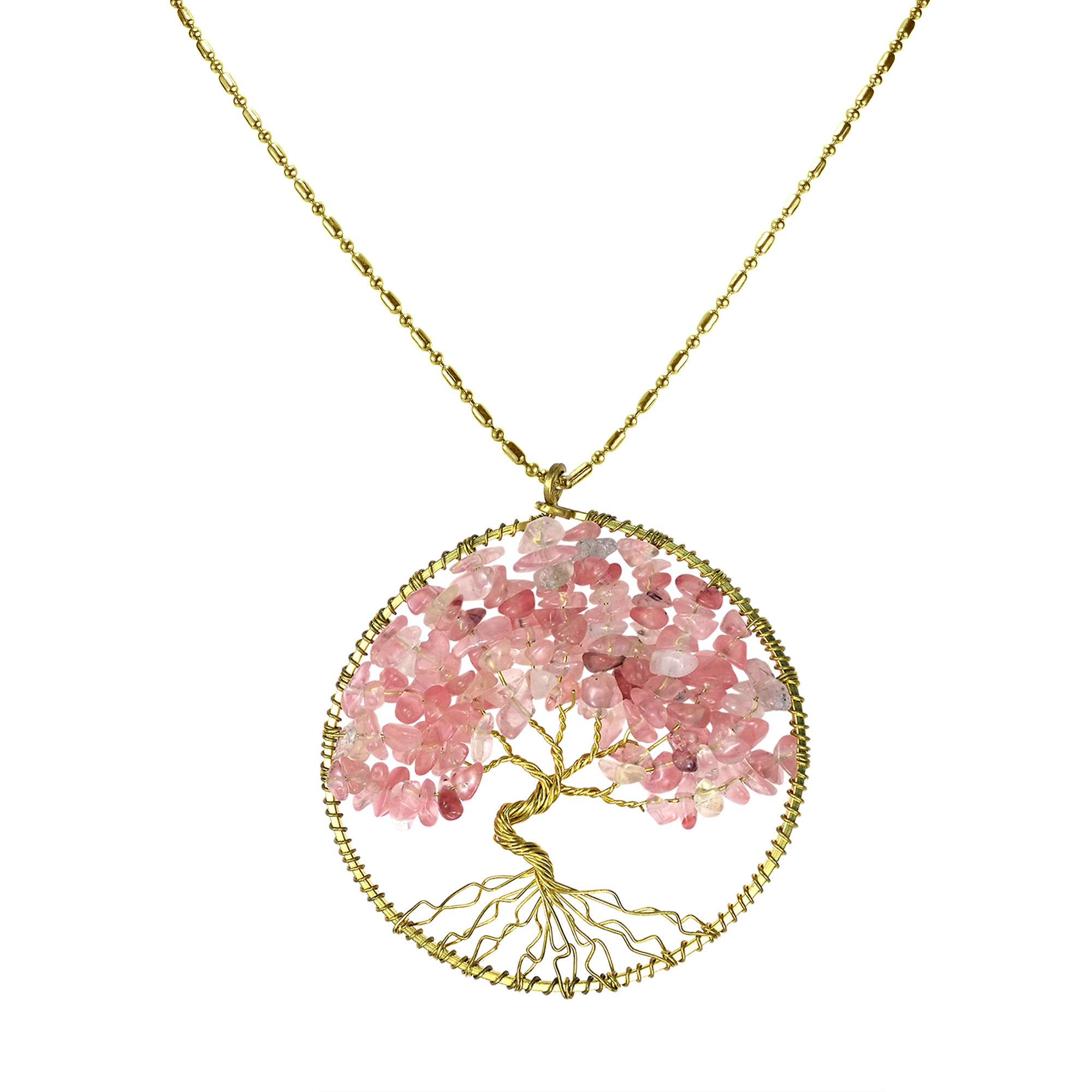 of in life tree pendant sterling necklace silver