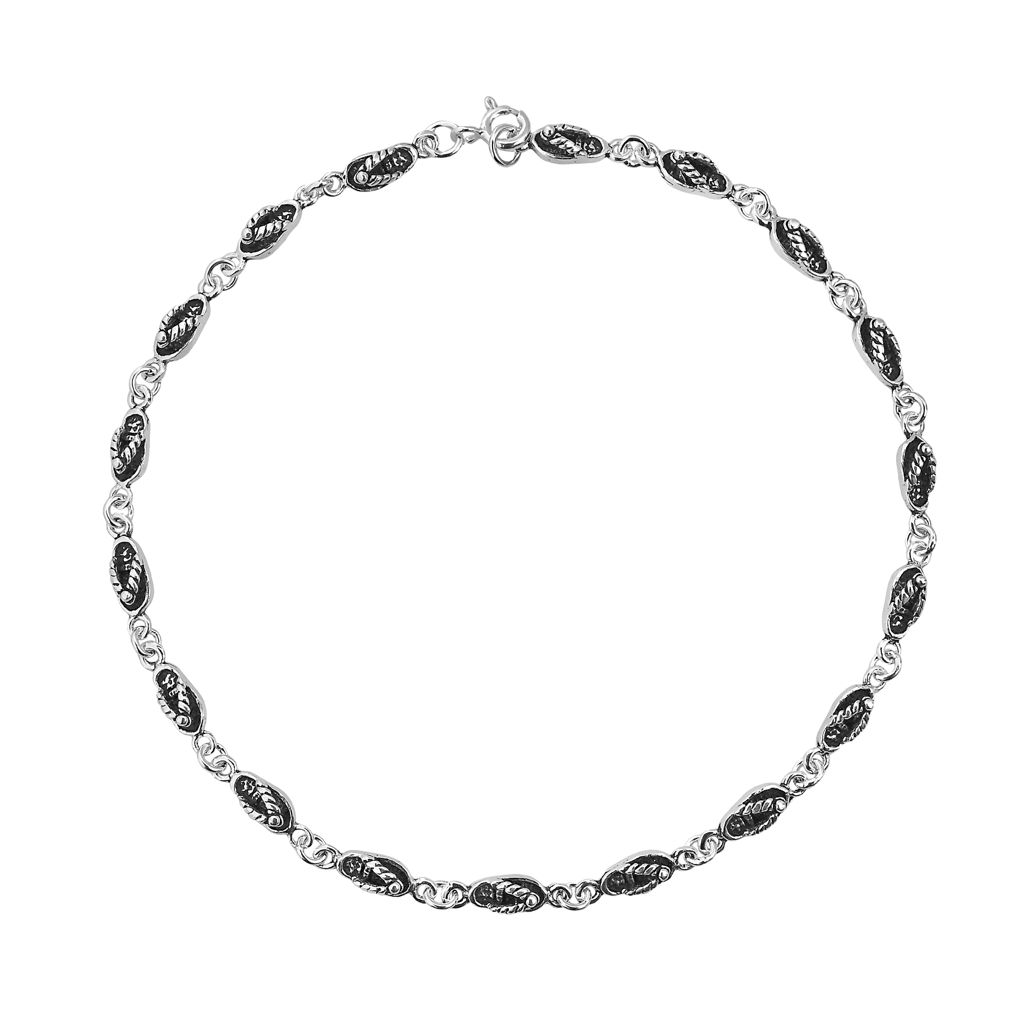 genuine product jewelry unique sterling anklet ssa silver bracelet