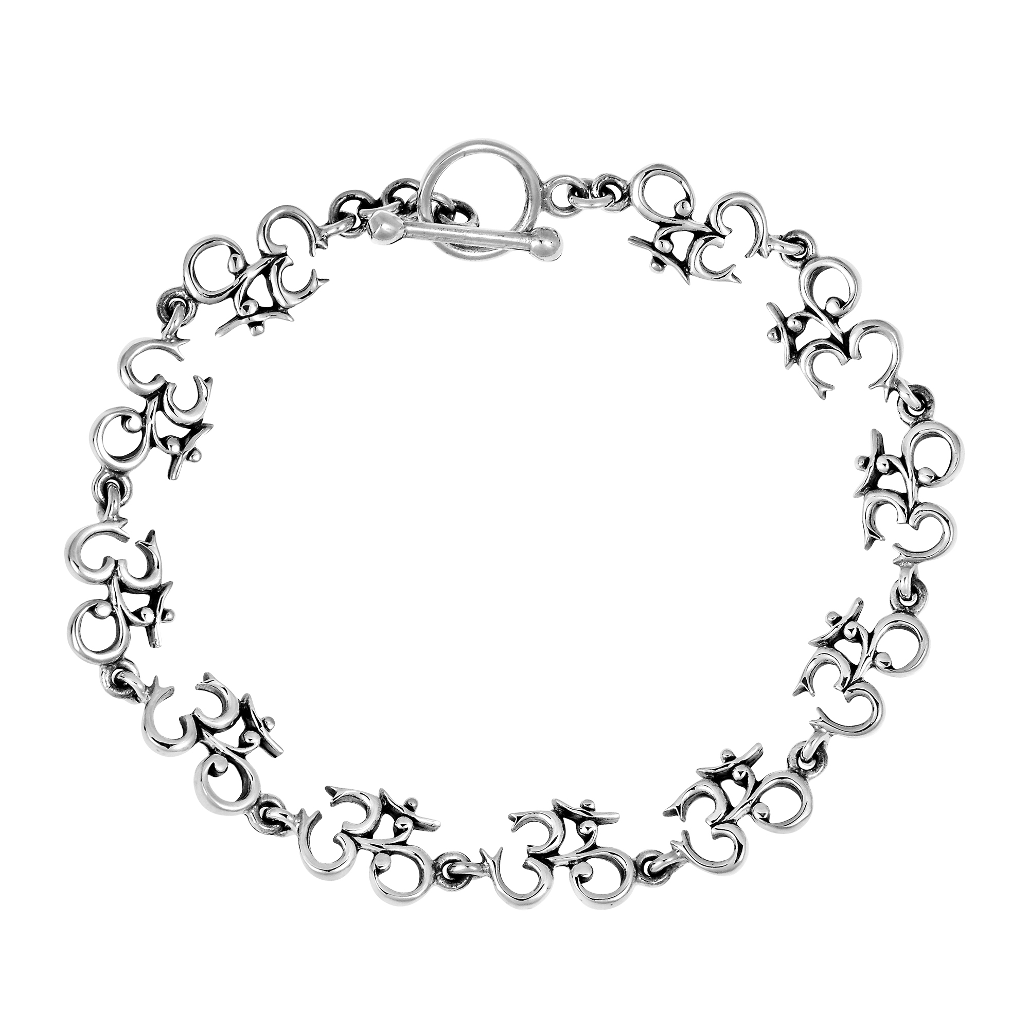 s bracelet guitar mens men linked silver