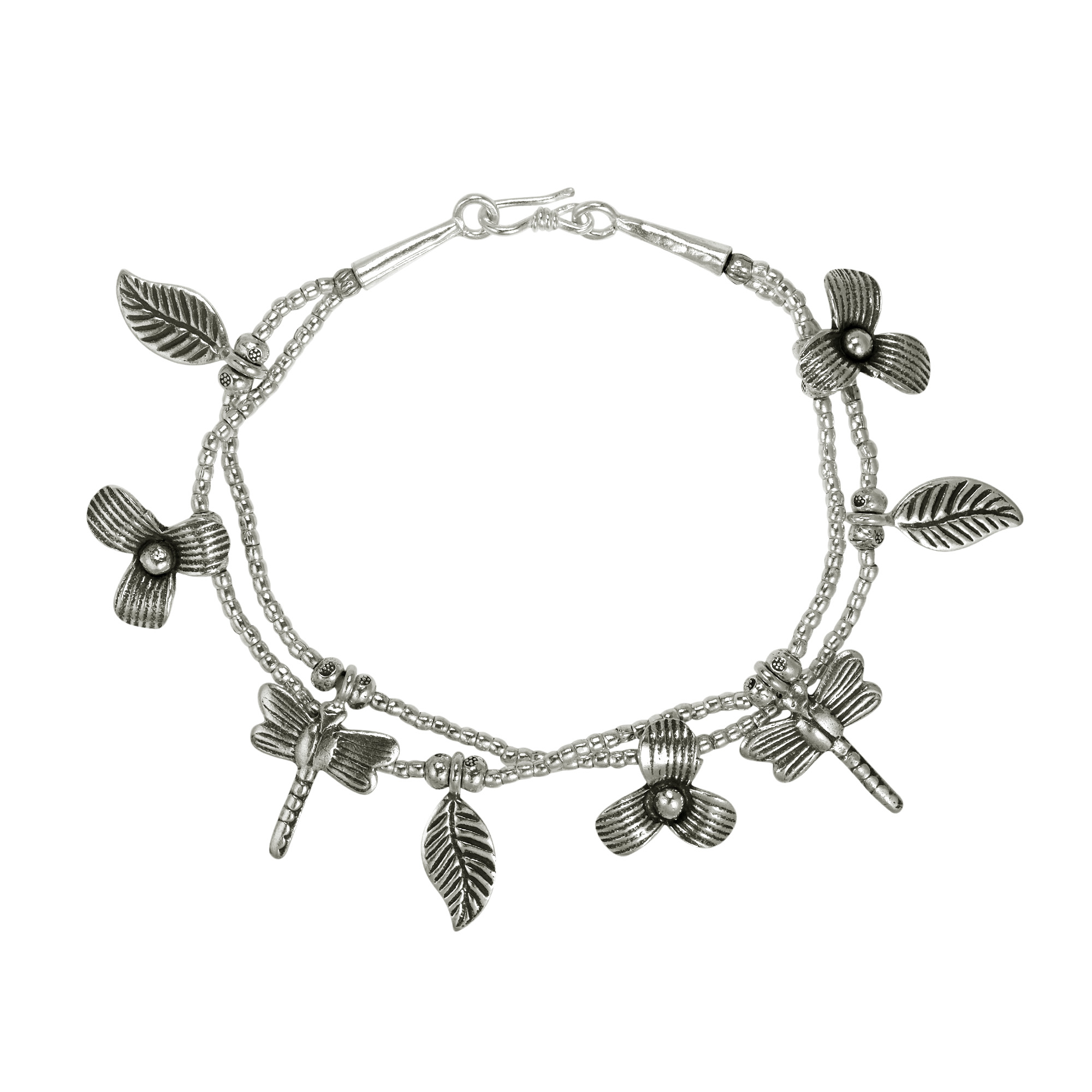 products beaded the this handmade garden contains percent dragonfly details features to tribe symbolizes pure plain intricate pb bracelet hill bracelets which tribal silver