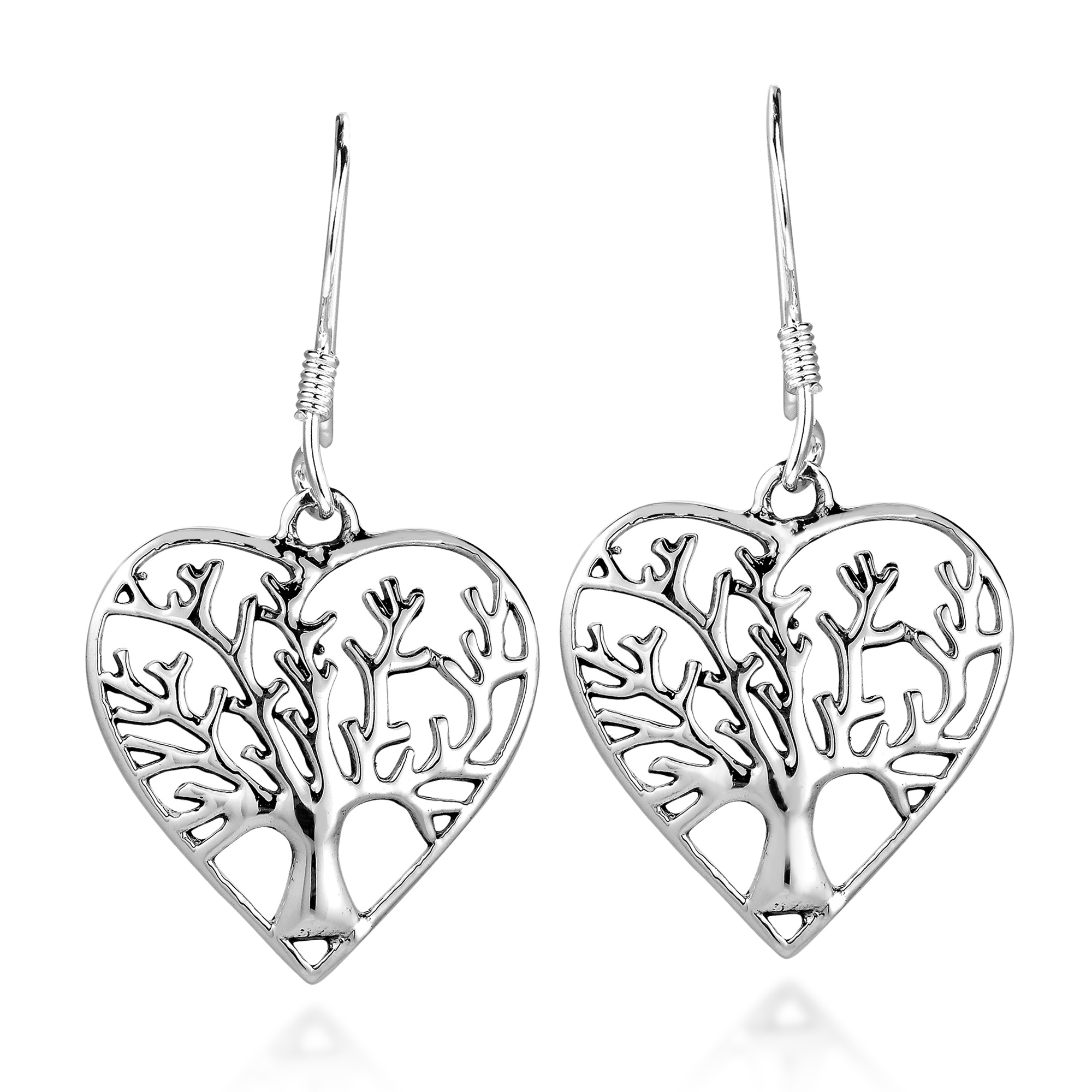 drop silver earrings heart jaz swarovski sterling crystal j asp p shape