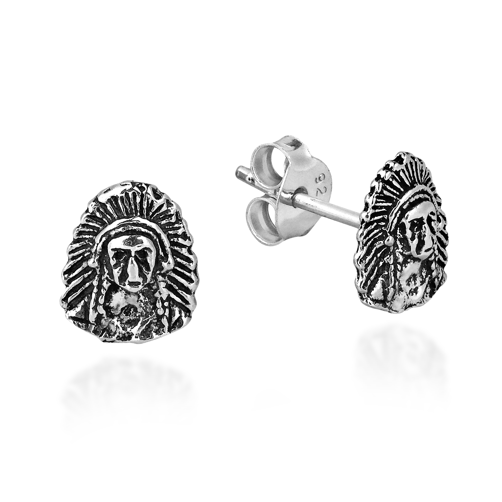 Expertly Crafted In Sterling Silver The Earring Feature An Oxidized Finish For