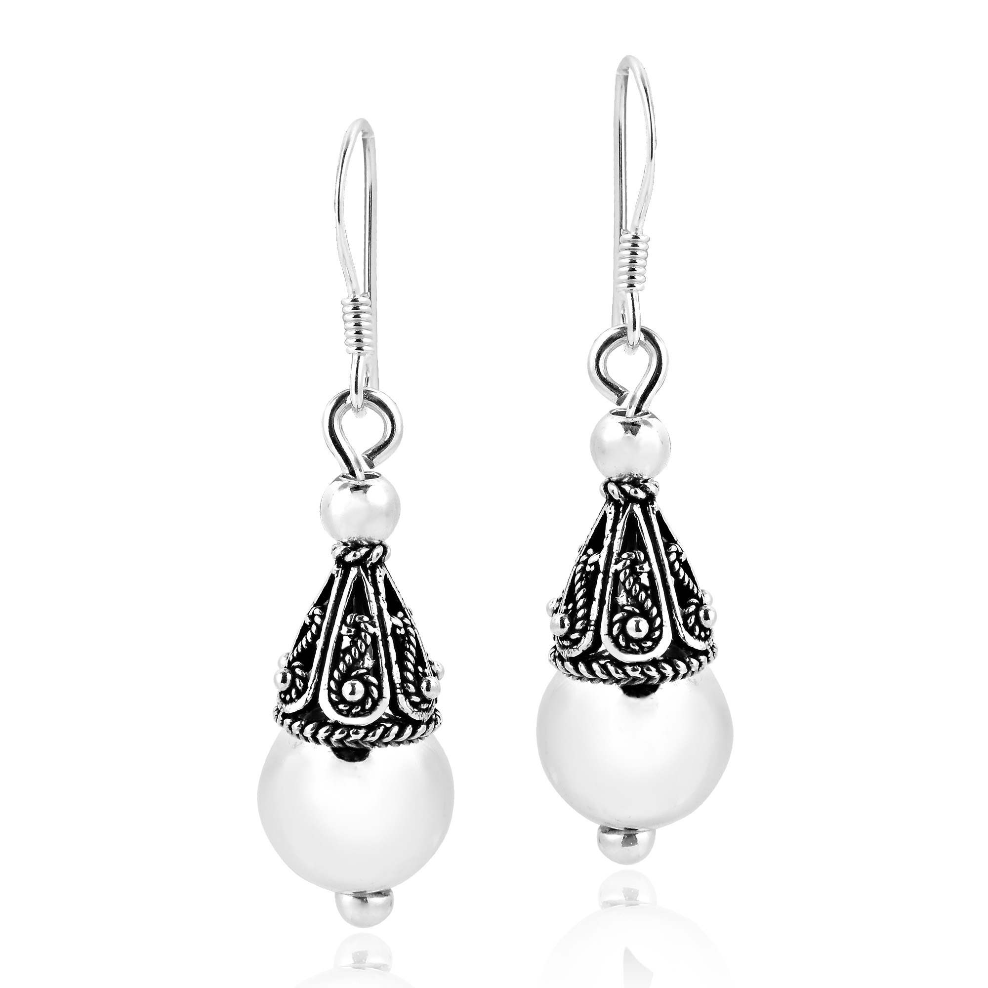 Crafted For Of Nostalgia And Elegant Sophisticated Styles These Filigree Earrings Are Made By Hand From Sterling Silver 925 In The Work