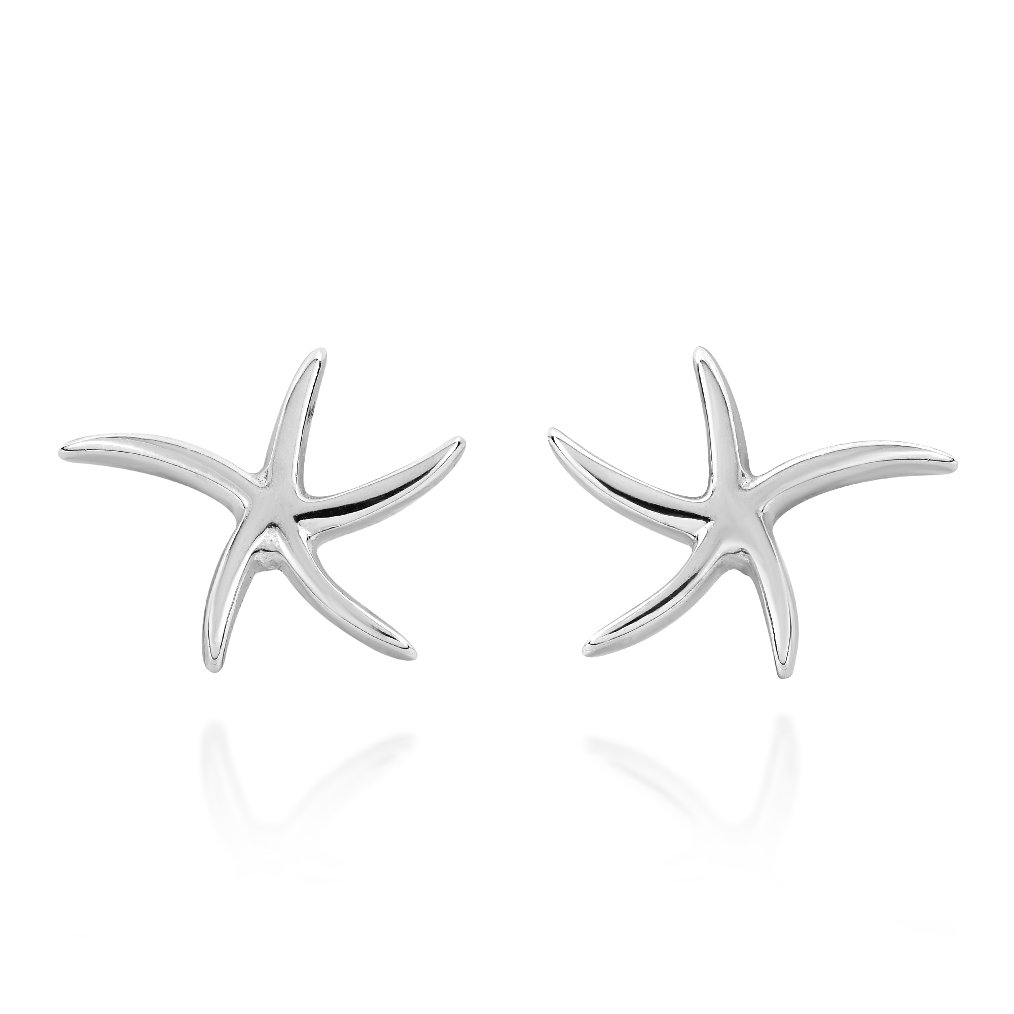 earrings listing white studs starfish fullxfull zoom il gold stud diamond