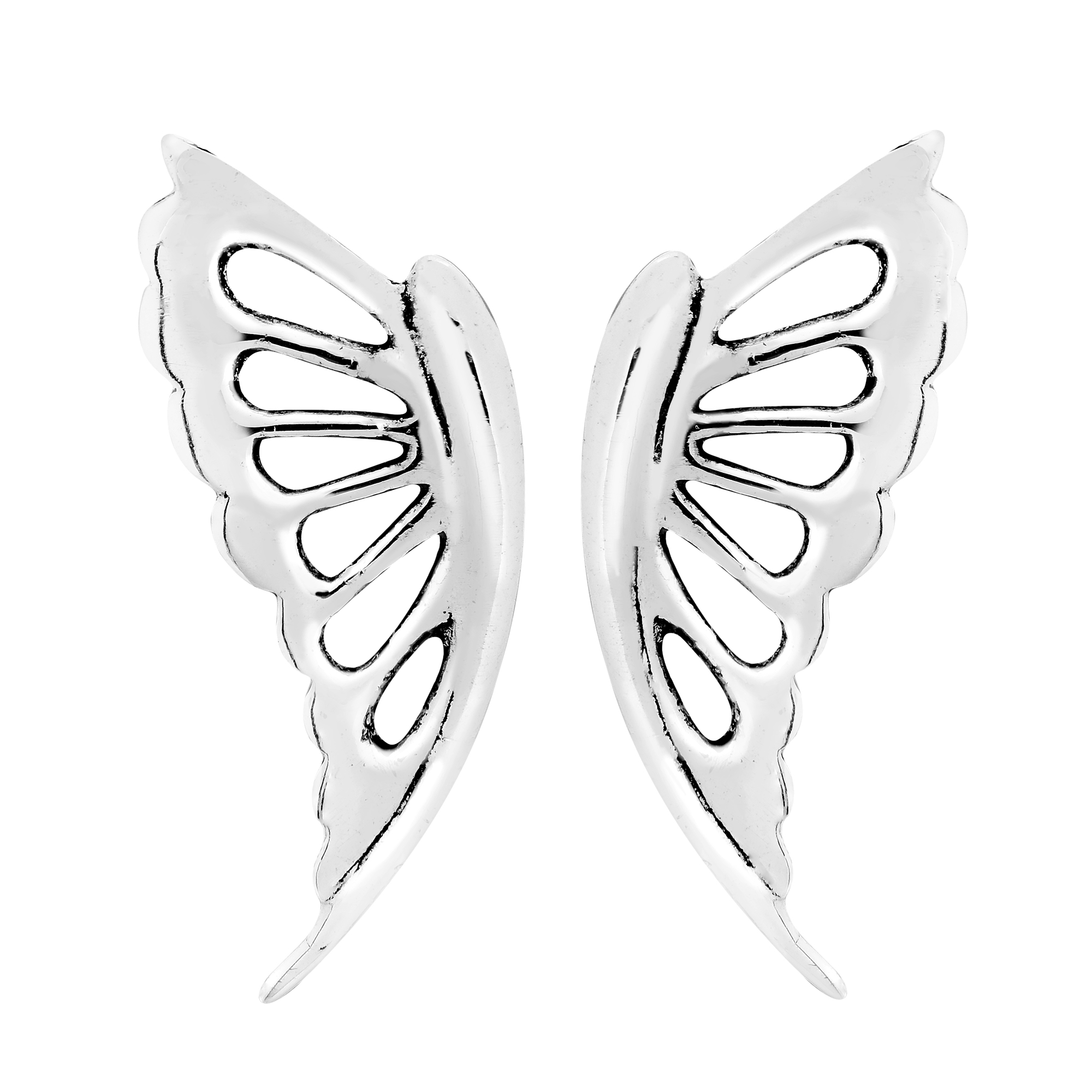 stud butterfly earrings view online fourseven buy front india