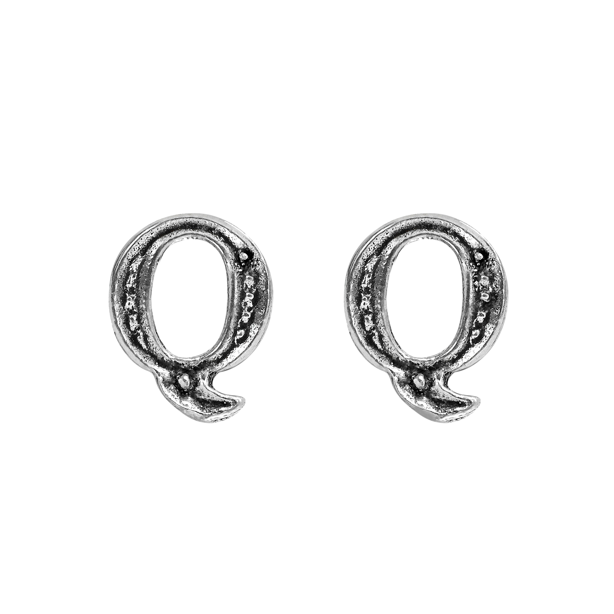 handmade cool n alphabet are in yet aeravida details letter feature of pe a simple the these this silver stylish stud earrings available sterling every pair products plain