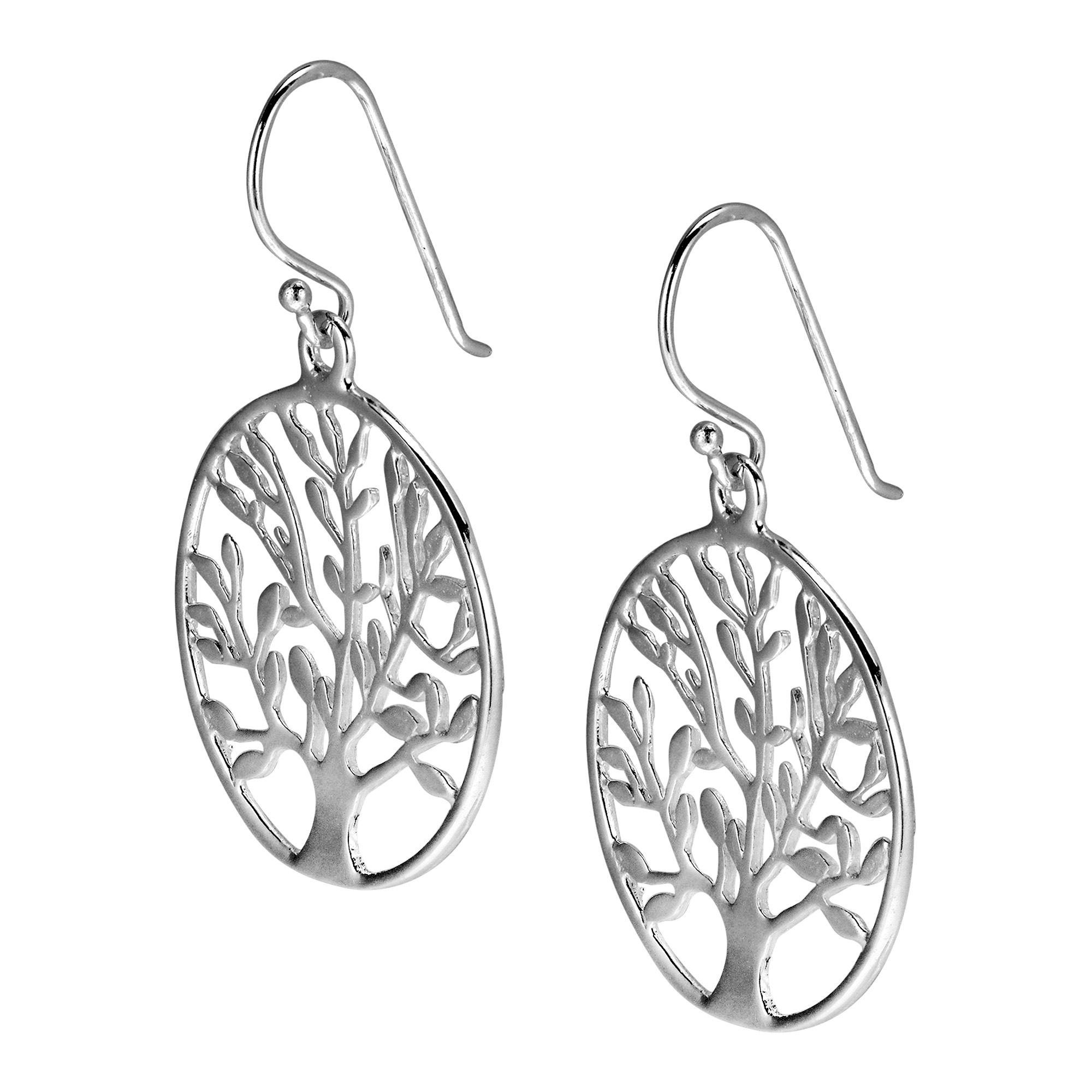 Local Aeravida Katsaya Handcrafted This Fabulous Earring Set These Unique Earrings Features The Tree Of Life In Sterling Silver