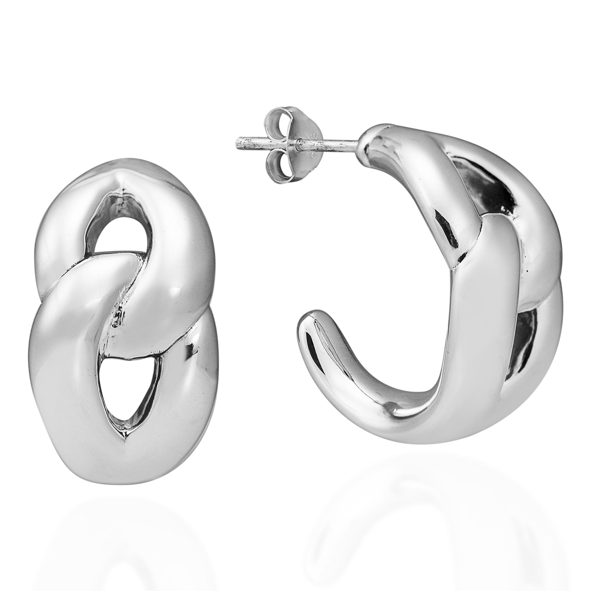 oval contemporary pin designer by annabet jewellery irregular wyndham earrings