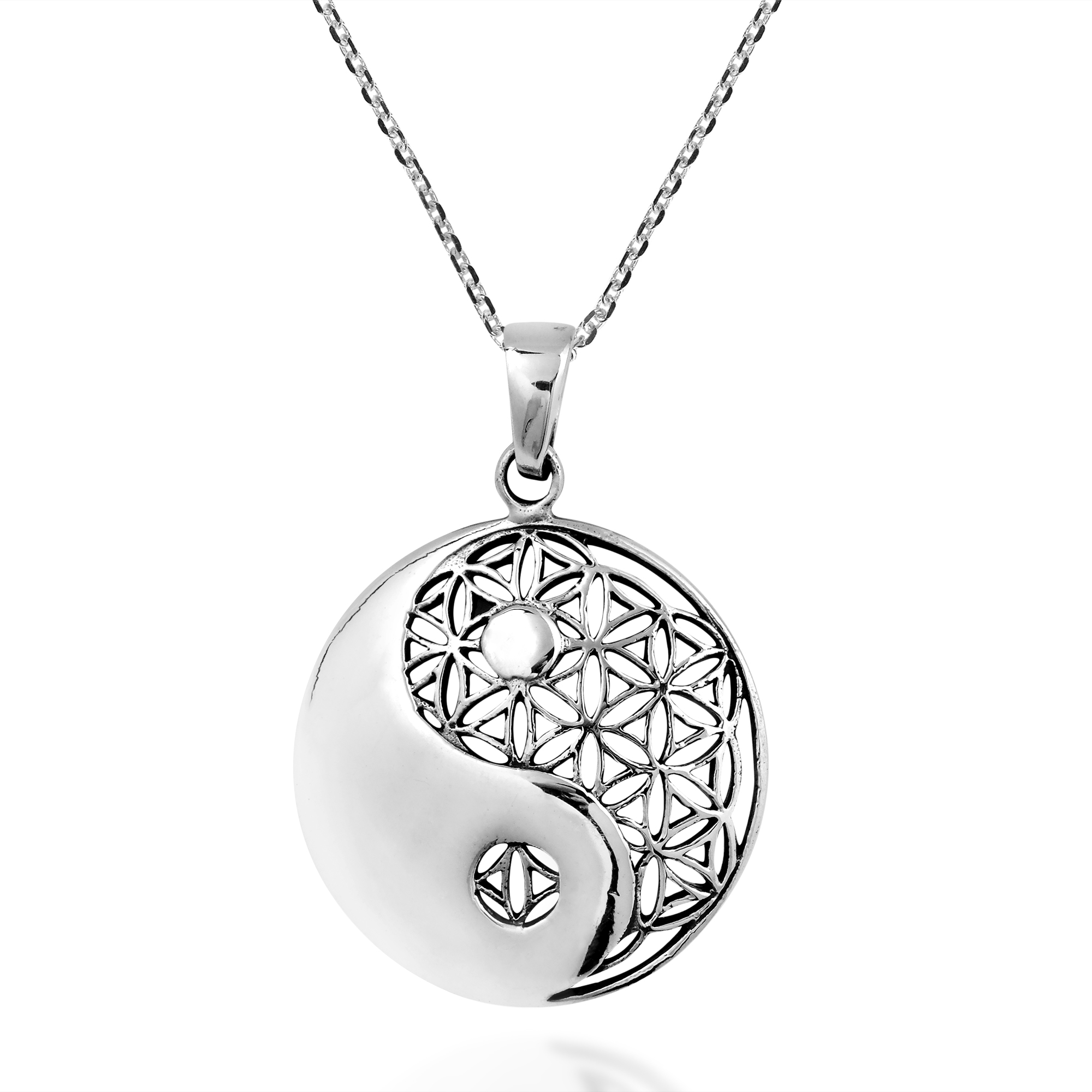 details aeravida necklaces message pendant product silver pn products inspirational necklace believe plain sterling