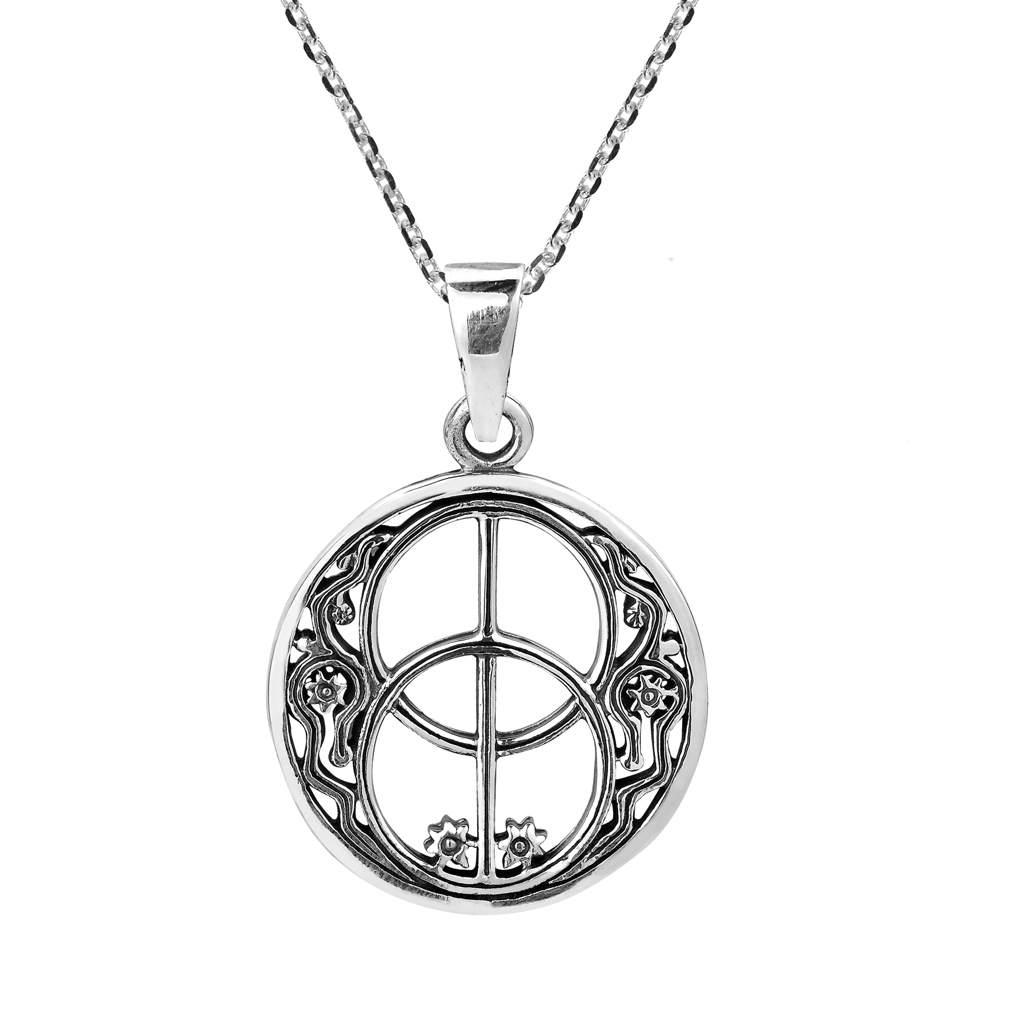plated onyx pendant jewelry necklaces products kabbalah spheres tree with mdl ahuva life gold spiritual collections of pendants the