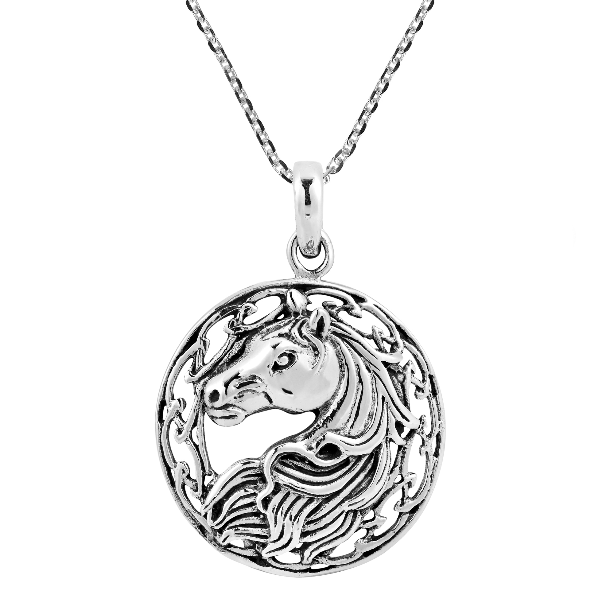 horse equestrian charmed product protection pendant designs spirit loriece necklace by