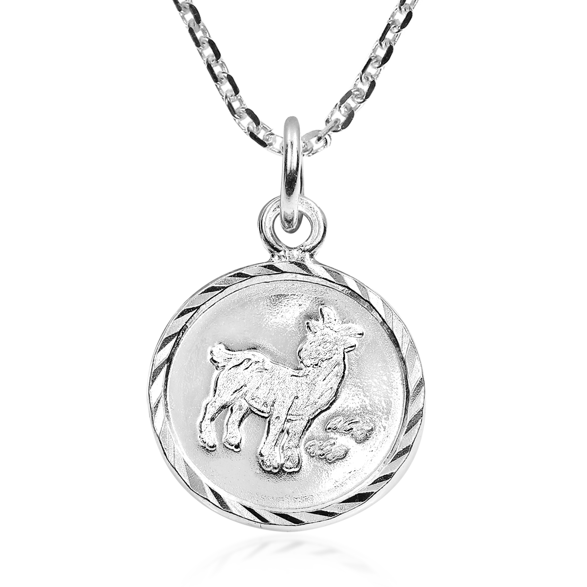 pendant to capricorn item goat circa click sterlingcapricornnecklace sterling full expand silver necklace