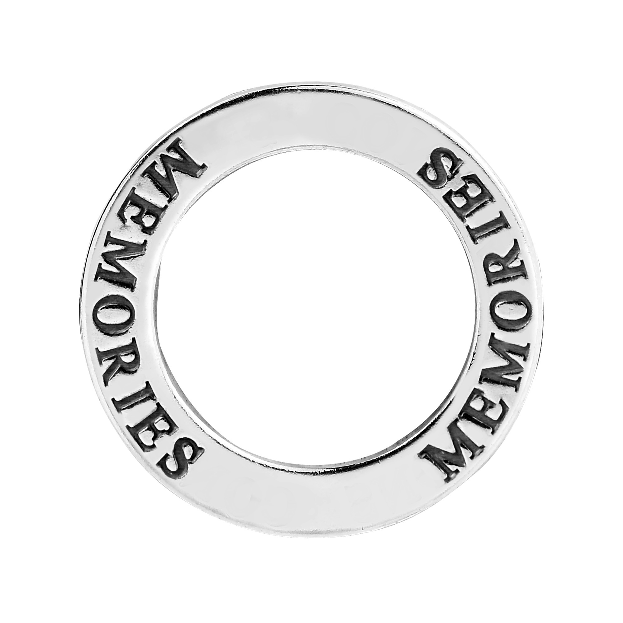Inspirational word memories on sterling silver circle pendant aeravida these inspirational pendants feature a single word that can carry a powerful message made from sterling silver these pendants can provide a daily aloadofball Choice Image