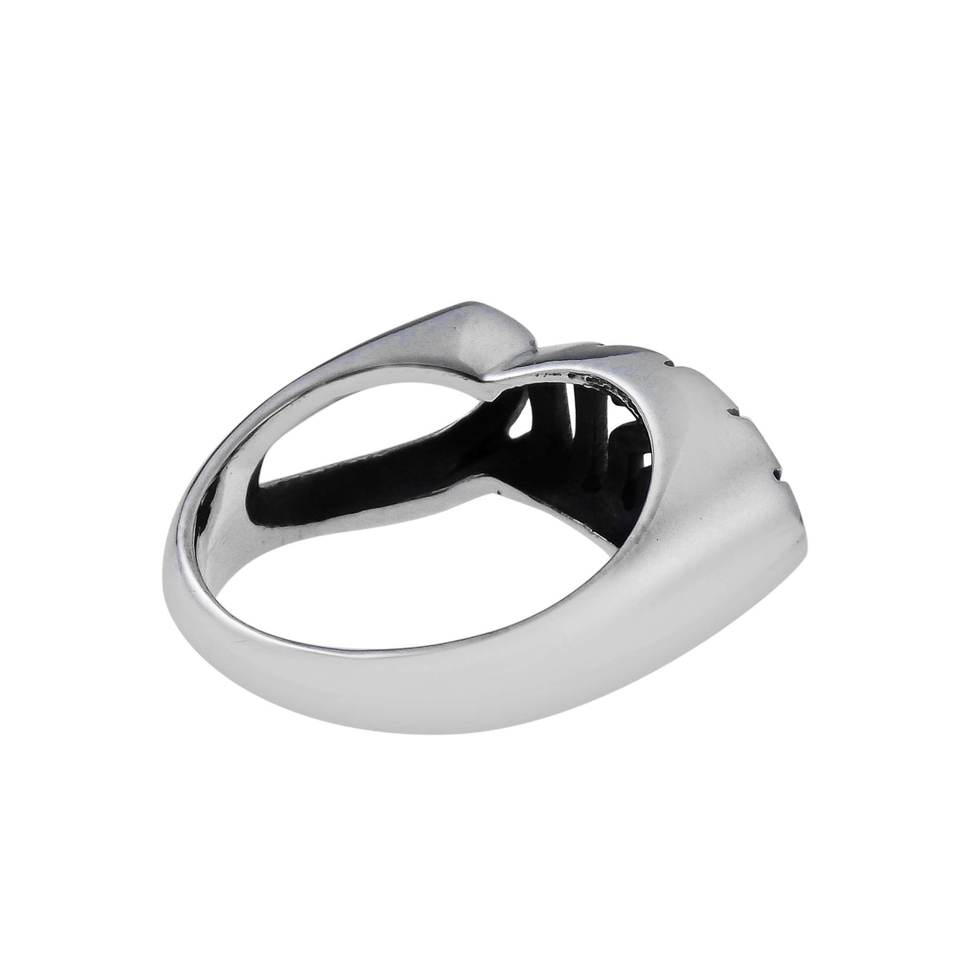 jesus fish ichthys christian symbol 925 silver ring 6