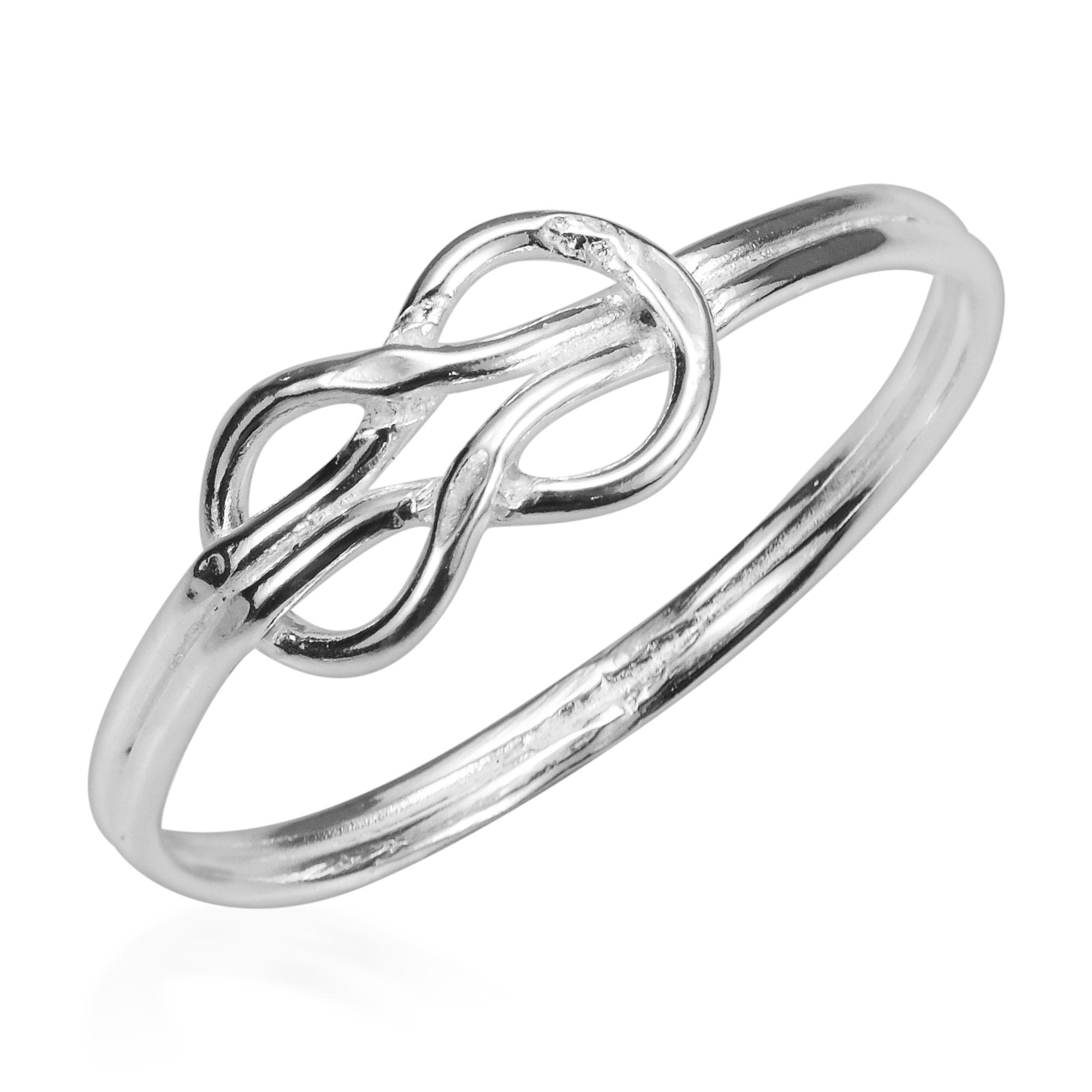 forever love infinity knot sterling silver ring6 ebay
