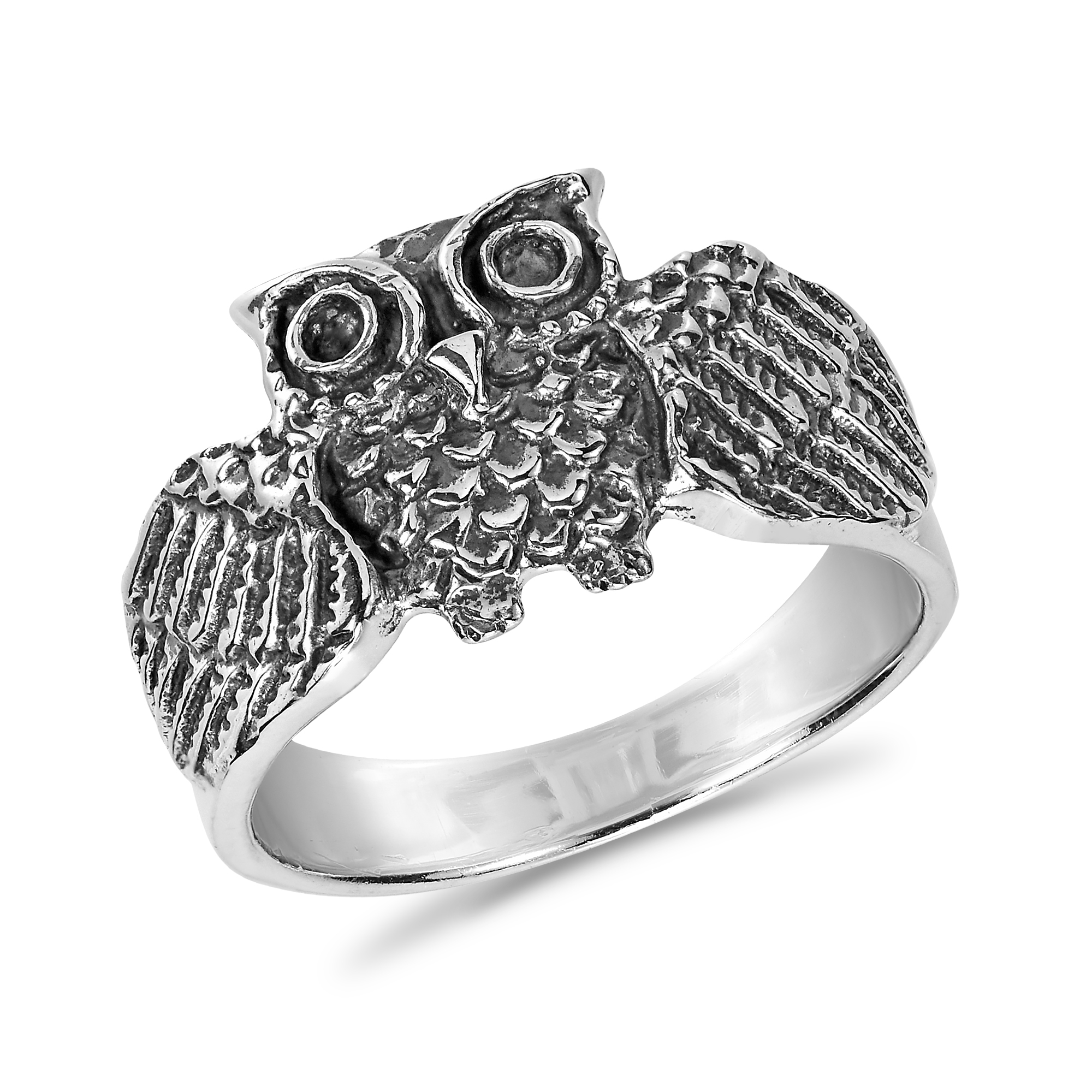 moon stars sterling shot ring products deco marcasite art stone rings silver