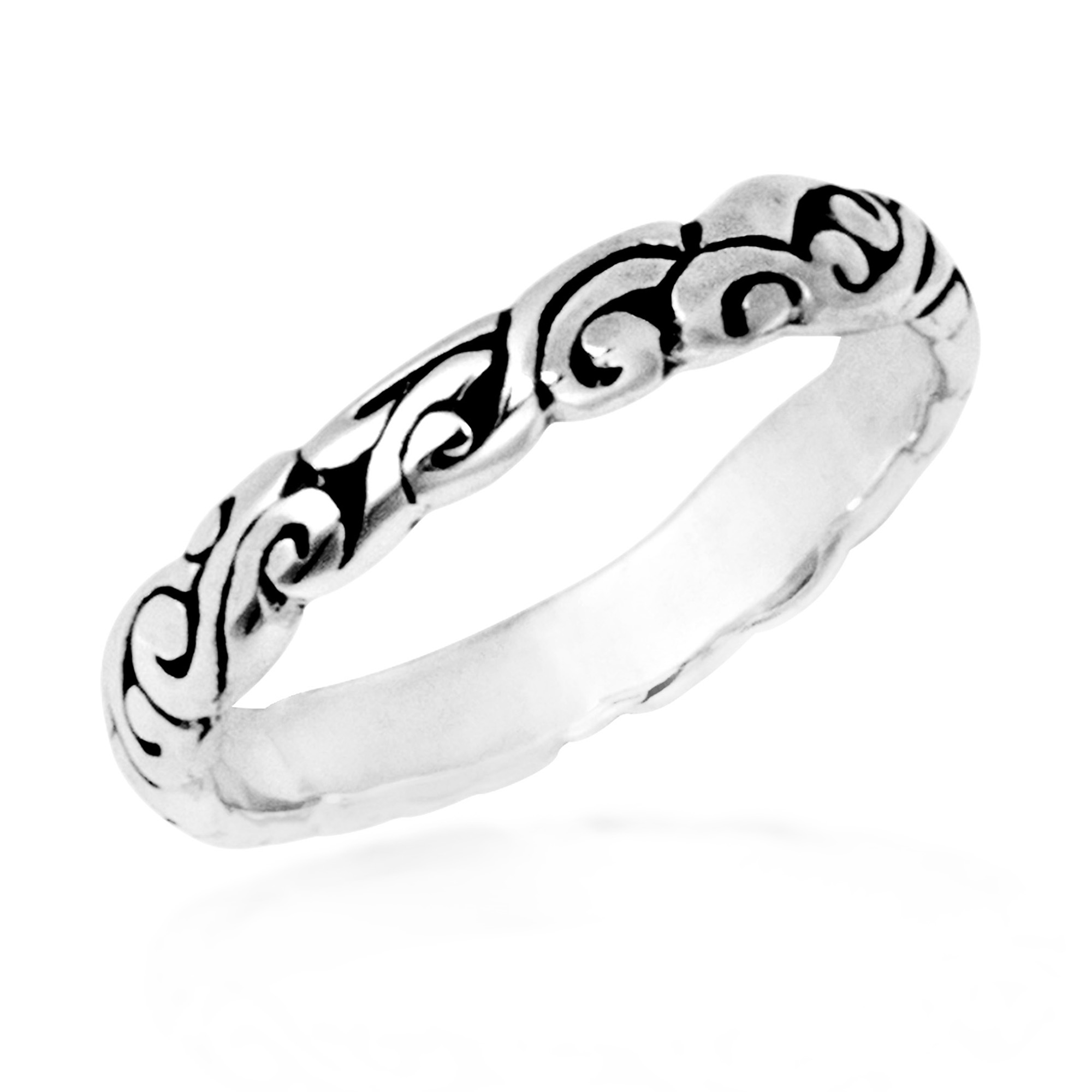 filigree product bands lyst stephen metallic gallery webster jaw gunmetal jewelry shark in ring