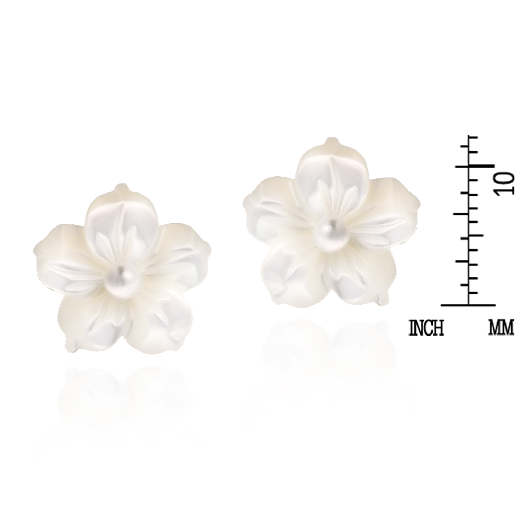 Artisan Khun Jai Transforms The Graceful Beauty Of The Plumeria Flower Into  A Design Of Classy Elegance Hand Carved Mother Of Pearl Fashion The Petals  Of