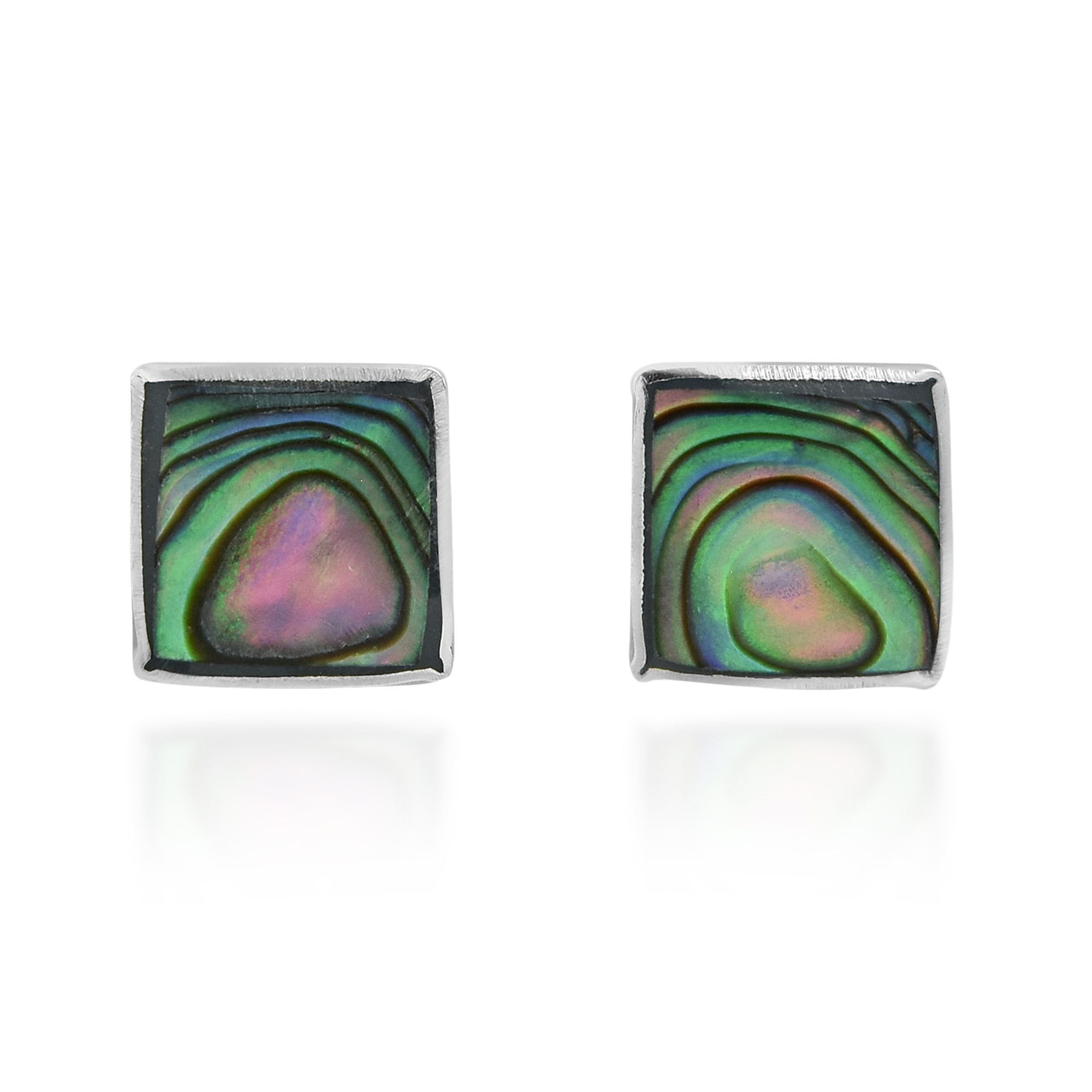 lyst sunburst gallery abalone house metallic earrings jewelry harlow stud of in