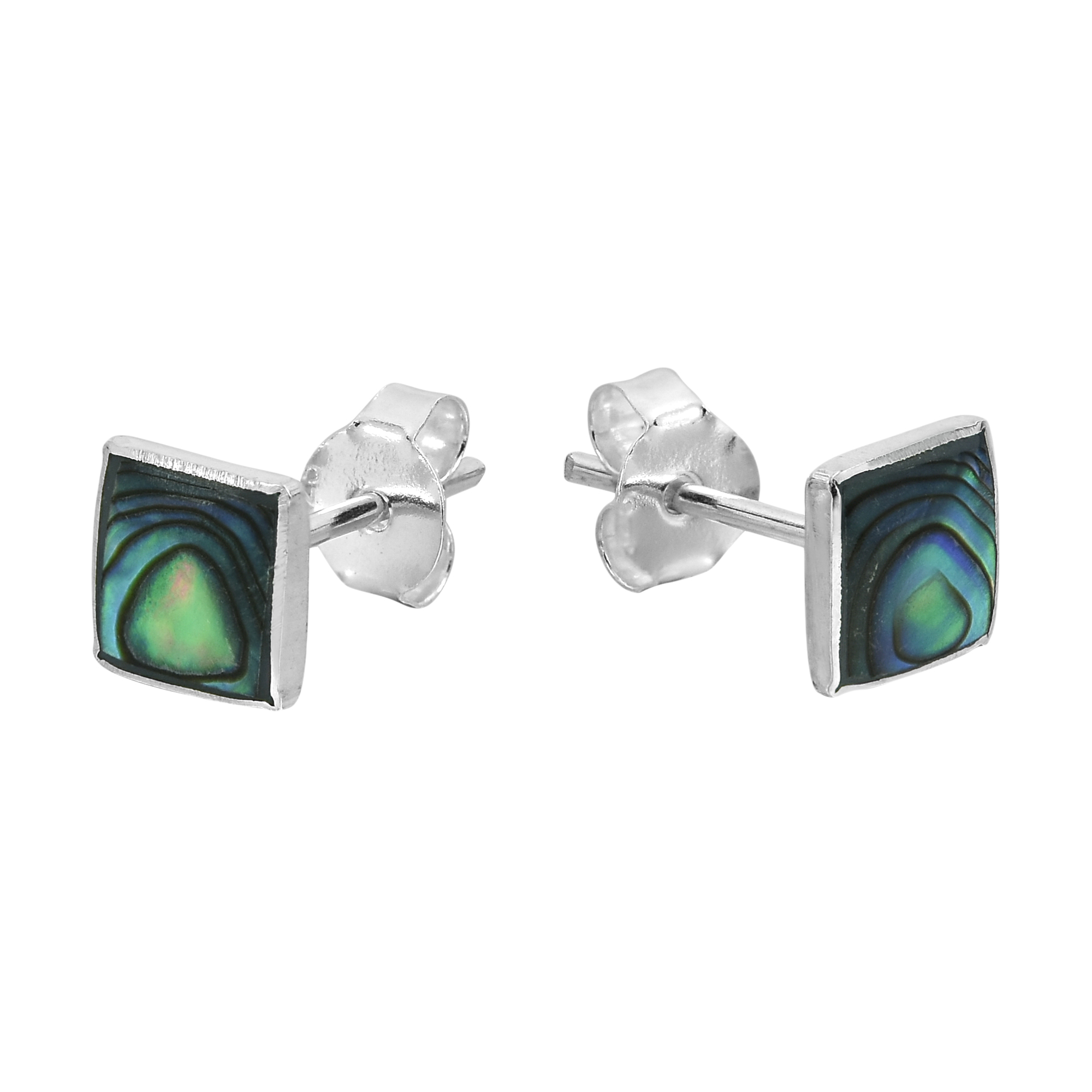 stud s dana women asymmetrical abalone pin simulated green earrings buchman