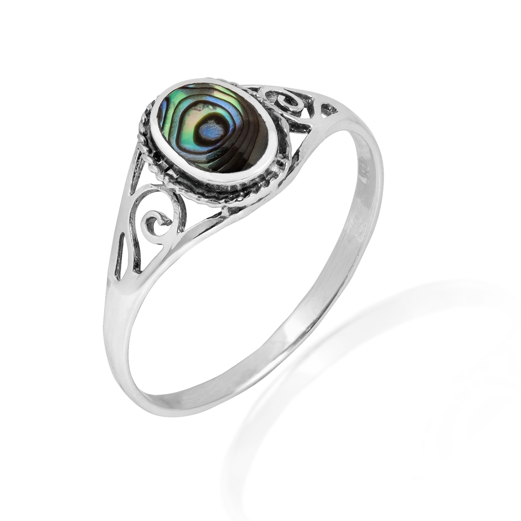 wedding molten bands ring abalone a new rings hand and silver engagement unique surface crafted mens buy cool