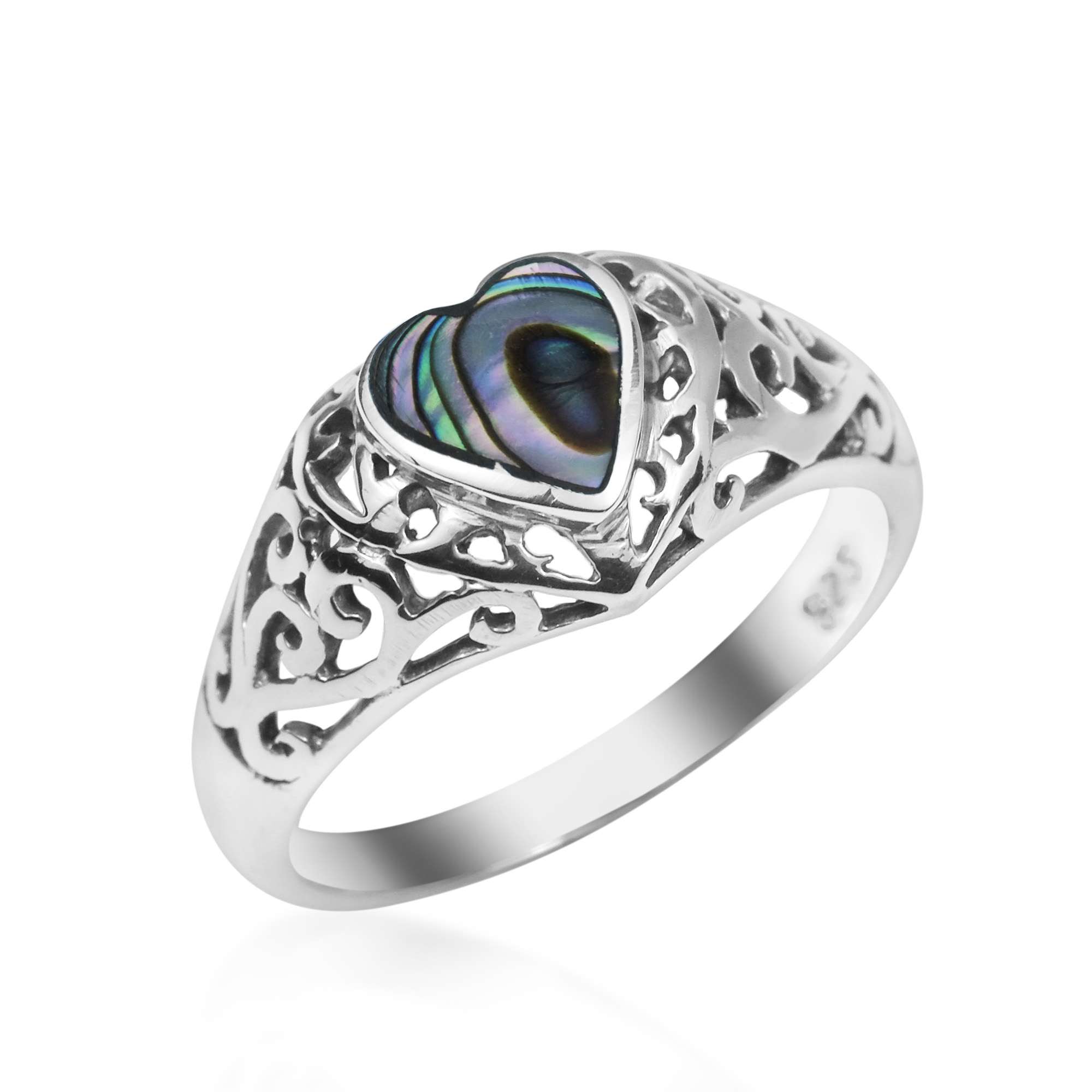 silver jewelry abalone img products copy ring unique long statement handmade shell boho rings amazonite of stelring
