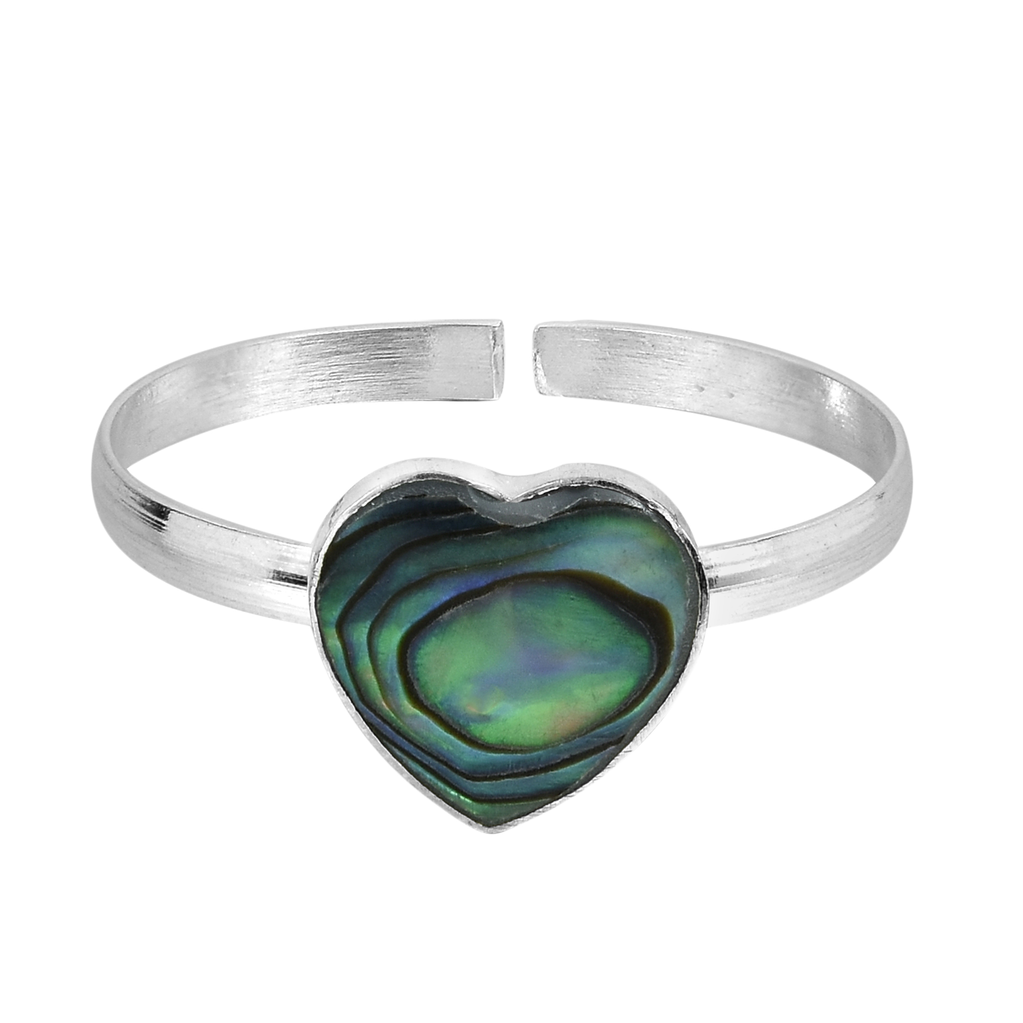 orders on sterling sweet shipping handmade watches overstock silver rings wedding over heart ring shell product abalone free thailand jewelry